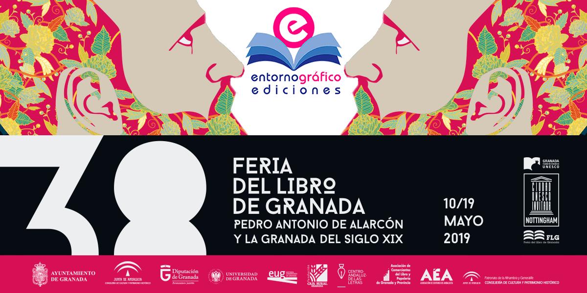 Entorno Gráfico ediciones en la 38 Feria del Libro de Granada
