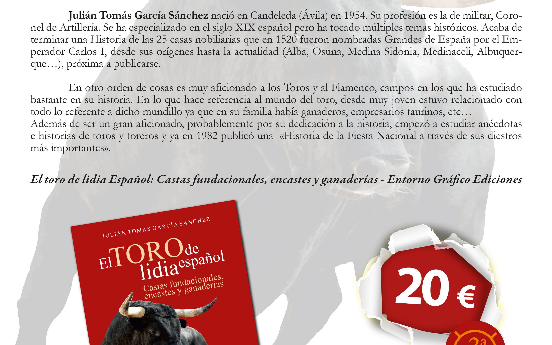 Presentación: El toro de lidia español